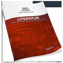 ZEIT Akademie Begleitbuch Literatur