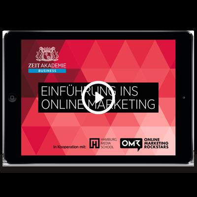 »Einführung ins Online Marketing«-Seminar Online Seminar