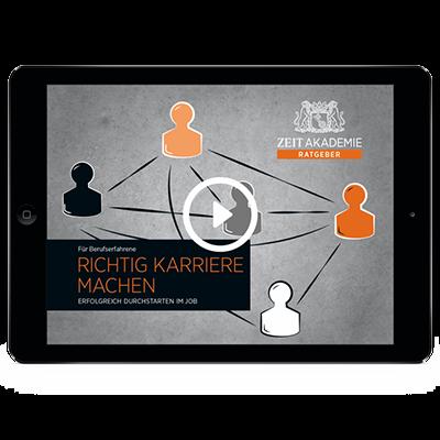 »Richtig Karriere machen«-Seminar Online Seminar