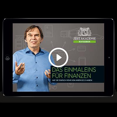 »Das Einmaleins für Finanzen«-Seminar Online Seminar