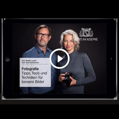 »Angewandte Fotografie«-Seminar Online Seminar